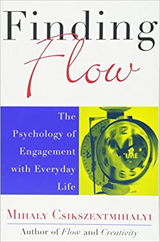 amazon finding flow the psychology of engagement with everyday
