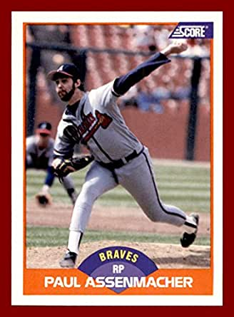 1989 Score #373 Paul Assenmacher ATLANTA BRAVES at Amazon