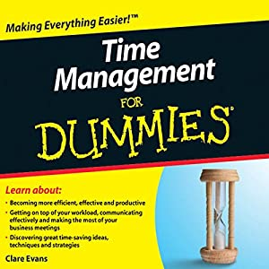 Time Management For Dummies Audiobook Audiobook