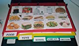 156 PHOTO IMAGES PECS BOOK 4 AUTISM ABA, SPEECH THERAPY, ADD, LANGUAGE Binder measures 5x8