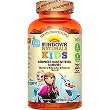 Sundown Naturals Kids Disney Frozen Complete Multivitamin, 180 Count