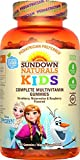 Cheap Sundown Naturals Kids Disney Frozen Complete Multivitamin, 180 Count