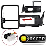 ECCPP Towing Mirrors For 1988-1998 Chevy GMC C1500 C2500 ...