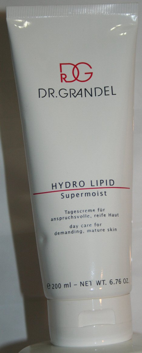 Dr. Grandel Hydro Lipid Supermoist 200 Ml Pro Size - Rich Day Care - Gives the Demanding, Mature Skin Tone and Elasticity - A Silky-smooth Appearance
