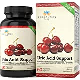 Cheap Uric Acid Support Formula | Advanced Uric Acid Cleanse & Kidney Support Supplement – Includes Tart Cherry Concentrate, Celery Seed Extract + 12 More High Potency Ingredients, 60 Veggie Capsules