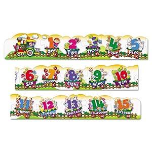 Amazon Com Chenille Kraft Number Train Floor Puzzle Toys