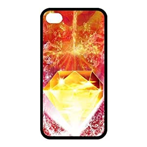 Custom Diamond Back Cover Case for iphone 4,4S JN4S-878 by mcsharks