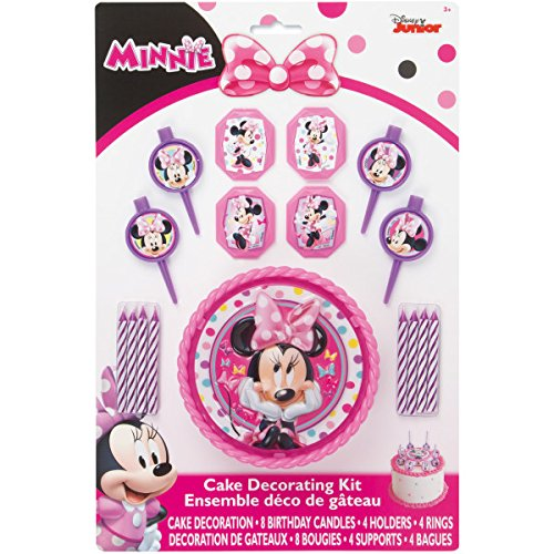 Minnie Mouse Cake Decorating -