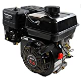Shop4Omni Air Cooled Single Cylinder 4-Stroke 208cc 7 HP Gasoline Engine