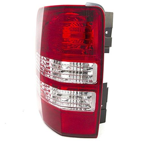 CarPartsDepot Rear Bumper Brake Light Lamp Left Side Fit 08-12 Jeep Liberty SUV CH2800180