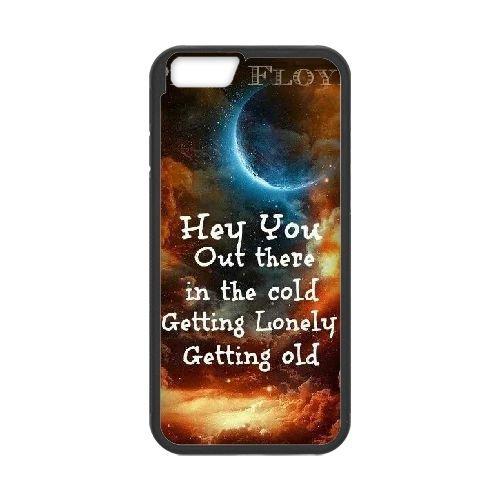 Pink Floyd 007 coque iPhone 6 4.7 Inch Housse téléphone Noir de couverture de cas coque EEEXLKNBC18274