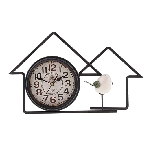 Reloj de Mesa de Escritorio de Estilo Vintage, Reloj Decorativo ...