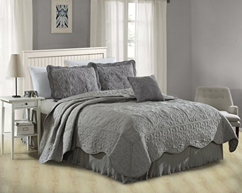 Embroidery Bedskirt - 7