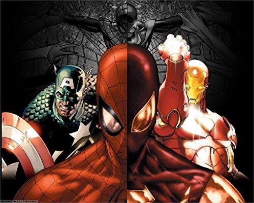 Twenty-three Marvel Movies Captain America Iron Man Spider M