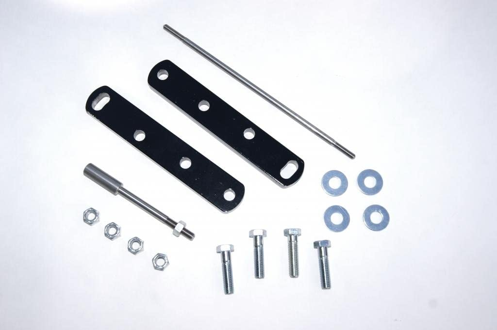 """Yamaha V-Star 1100 4/"""" FORWARD CONTROL EXTENSIONS KIT SCOOTMODS pegs highway bars"""