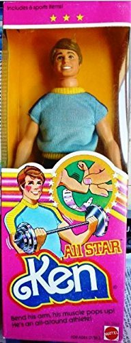 (1981 All Star Ken Barbie)