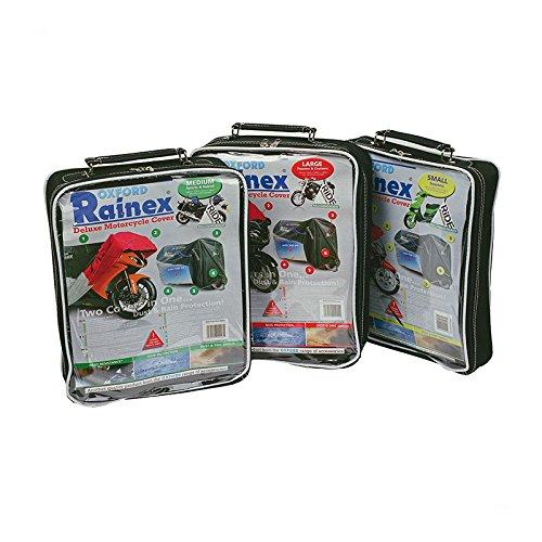 Oxford Large Heavy Duty Motorcycle Motorbike Waterproof  Rainex Cover OF924