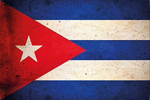 Cartel de chapa Países bandera Naciones Bandera de Cuba Cuba ...