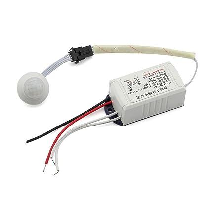Novela Sensor de módulo de interruptor de sensor de movimiento infrarrojo Cuerpo Inteligente Luz: Amazon.es: Electrónica