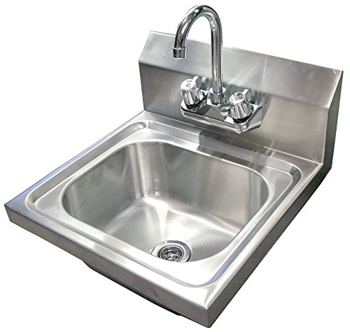 Omcan Wall Mounted Hand Sink with 4 Faucet Zanduco