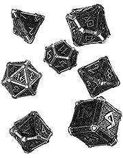 Q WORKSHOP Metalen RPG Ornament Dice Set