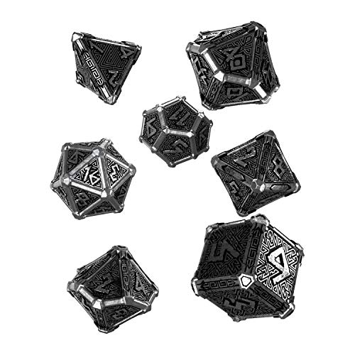Q Workshop Mythical Metal Dice Set