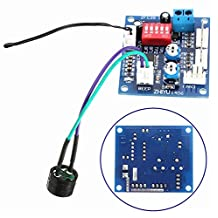 DC 12V PWM PC CPU Fan Temperature Control Speed Controller CPU Alarm Module