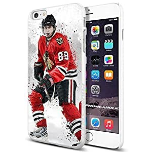 Hockey NHL Chicago Blackhawks Kane , , Cool iphone 6 4.7 (+ , Inch) Smartphone Case Cover Collector iphone TPU Rubber Case White [By PhoneAholic]