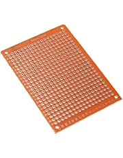 Qinghengyong 20st Glasvezel enkelzijdig solderen Finished PCB Prototype Voor printplaat solderen Finished PCB doe Circuit Boards 5x7cm