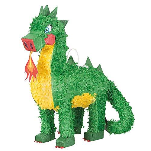 Unique 65995 Party Dragon Pinata, 18.5