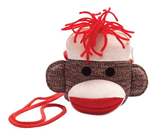 Schylling Sock Monkey Purse