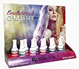 KIARA SKY Mood Changing Gel Polish Ombre *ENCHANT* Collection 11 Colors + FREE 3 Air Brush Stencil