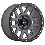 Method Race Wheels Grid Titanium/Black Street Loc Wheel with Zinc Plated Accent Bolts (20x9''/8x6.5'', +18mm offset) 18 mm offset