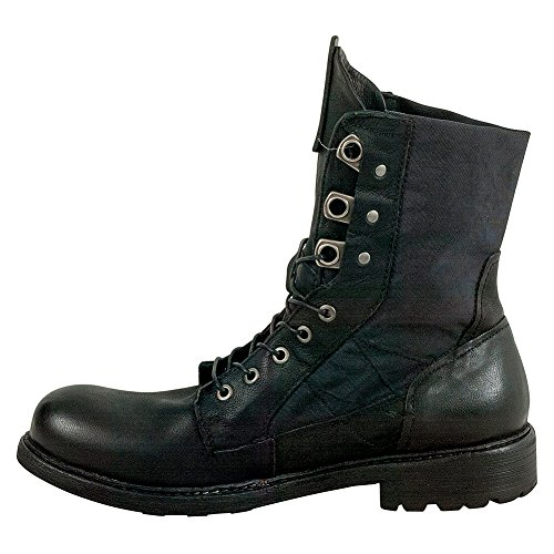 A.S.98 Raddy Mens Combat Boot Nero ZPkVf2N