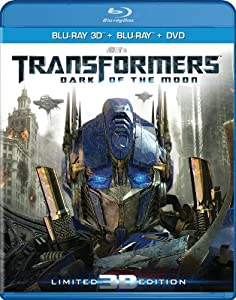 Cover Image for 'Transformers: Dark of the Moon (Three-Disc Combo: Blu-ray 3D/Blu-ray/DVD/Digital Copy)'