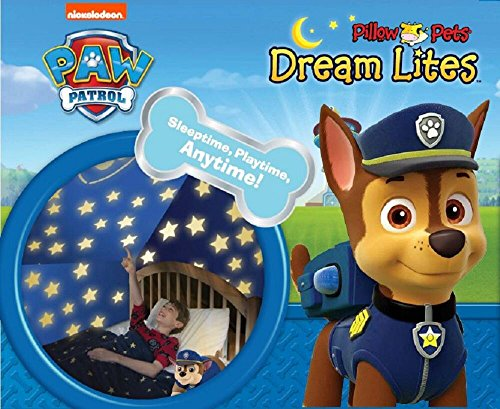 Nickelodeon Paw Patrol Pillow Pets Chase Dream Lites