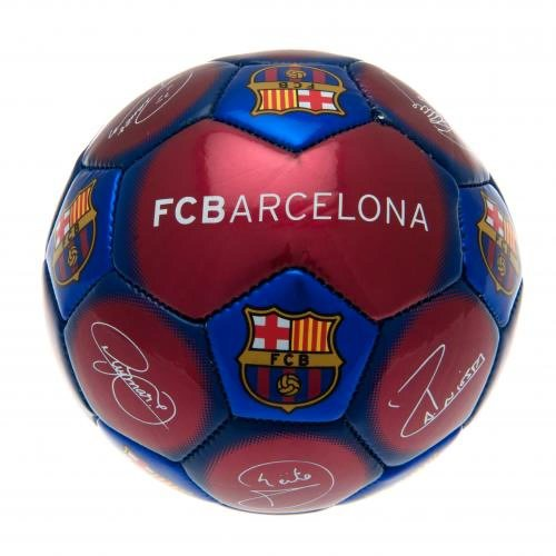 e07373302c4 FC Barcelona Official Football Gift Signature Skill Ball - A Great Christmas    Birthday Gift Idea For Men And Boys