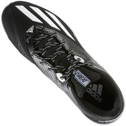 Adidas Menns Dual Trussel Lave Metallpriser Cleats Black | Hvite