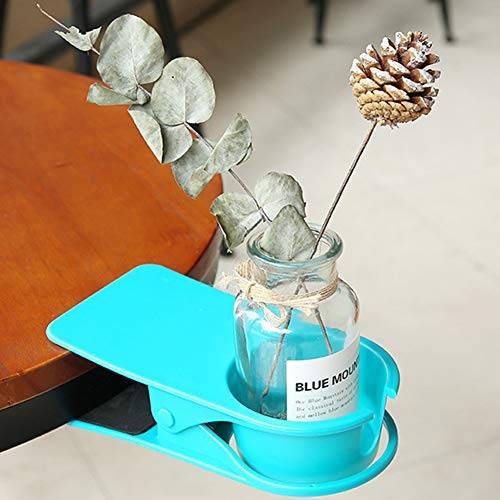 Drinking Cup Holder Clip ,Clamp Home Office Table Desk Side Huge Clip ,Table Desk Side Huge Clip (Clip Drink Holder)
