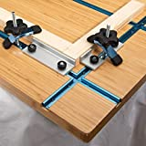 POWERTEC 71209 T-Track Intersection Kit with Wood