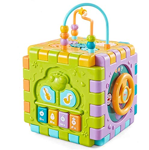 Toyvelt Activity Cube for Toddlers Baby Educational ...