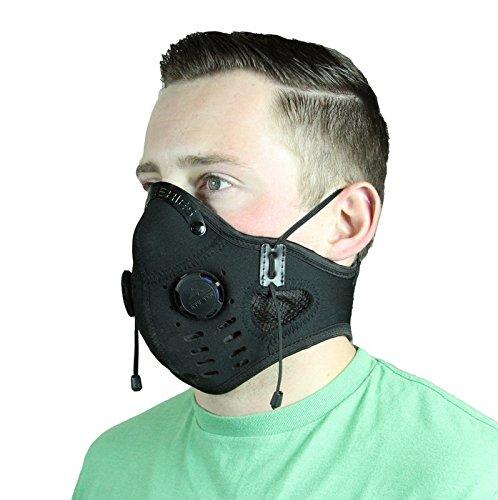 ATV Tek Elite Deluxe Neoprene Dust Mask (Black, 18