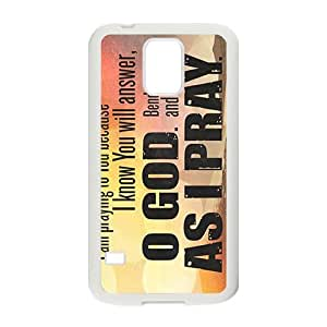 as i pray Phone Case for Samsung Galaxy S5 Case