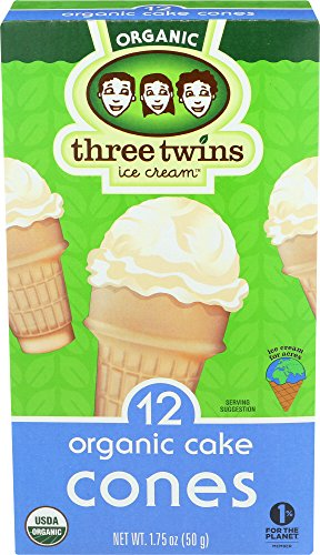 Three Twins Organic Cake Cones, 5 oz ()