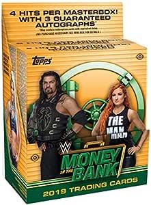 2020 Topps WWE Undisputed Caja Sellada Hobby Lucha Libre 8 autógrafos