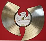 #6: Wu-Tang Clan Laser Cut Gold Plated LP Record Wall Clock