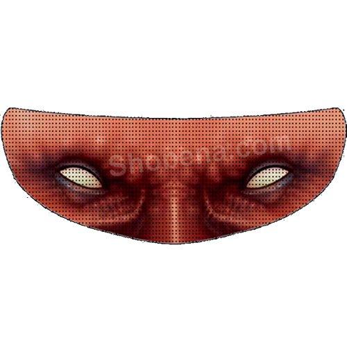 SkullSkins Alien Universal Full Face Motorcycle Helmet Windscreen Graphic Visor Tint Shield Sticker Decal