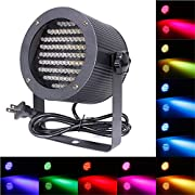 Amazon Lightning Deal 93% claimed: ALED LIGHT 86 Led Par Light RGB Led Stage Lighting Projector for DJ Disco Party Stage Light Led Stage Light,Magic Ball Effect & Sound Activated Mode for KTV, Disco, DJ, Party, Wedding, Show, Club, Pub, Holiday