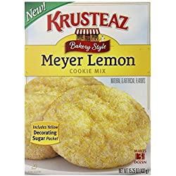 Krusteaz Meyer Lemon Cookie Mix, 15.25 Ounce (Pack of 2)