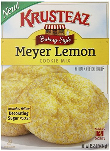 Mix Cookie Krusteaz (Krusteaz Meyer Lemon Cookie Mix, 15.25 Ounce (Pack of 2))